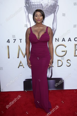 Editorial photo of 47th NAACP Image Awards, Arrivals, Los Angeles, America - 05 Feb 2016