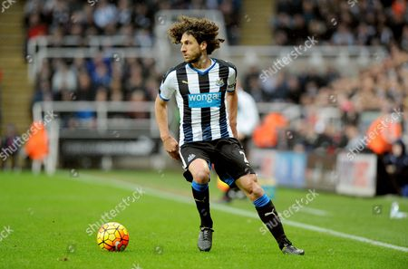 Fabricio Coloccini of Newcastle United during the Barclays Premier League match between Newcastle United and West Bromwich Albion at St James Park on the 6th of February 2016