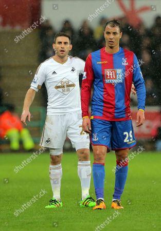 Editorial photo of Barclays Premier League 2015/16 Swansea City v Crystal Palace Liberty Stadium, Landore, Swansea, United Kingdom - 6 Feb 2016