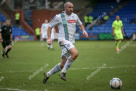Gary Taylor-Fletcher (Tranmere Rovers) during the Vanarama National League match between Tranmere Rovers and Southport at Prenton Park, Birkenhead