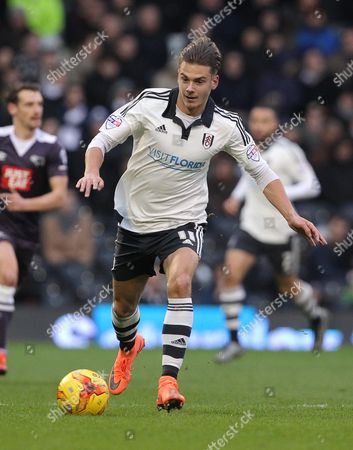 Alex Kacaniklic of Fulham