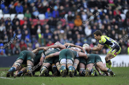 Editorial picture of Leicester Tigers v Sale Sharks, Britain - 6 Feb 2016