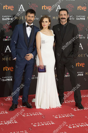 Hugo Silva, Aura Garrido and Nacho Fresneda