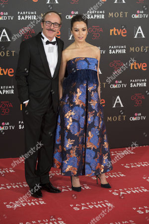 Editorial picture of Goya Cinema Awards, arrivals, Madrid Spain - 06 Feb 2016