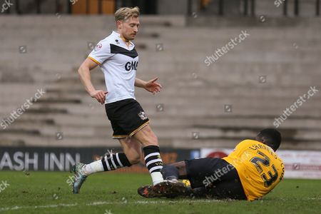 Editorial image of Port Vale v Coventry City, Sky Bet League 1 - 7 Feb 2016