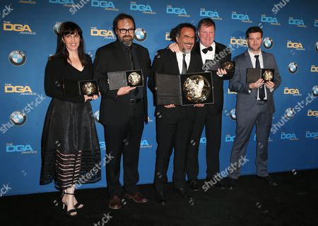 Editorial photo of 68th Annual Directors Guild Awards, Press Room, Los Angeles, America - 06 Feb 2016