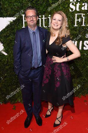 Matthew Perry and Jennifer Mudge