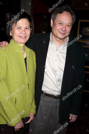 Ang Lee and wife Jane Lee