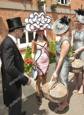 Tracy Rose Is Evicted From Ascot By The Fashion Police On The Second Day Of Royal Ascot. 19.6.13 Reporter Louise Eccles.