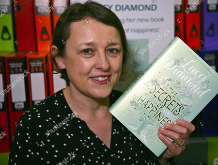 Editorial picture of Lucy Diamond 'The Secrets of Happiness' book signing, Reading, Britain - 06 Feb 2016