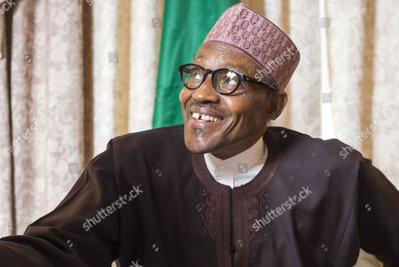 Editorial photo of Nigerian President Muhammadu Buhari interview, London, Britain - 05 Feb 2016