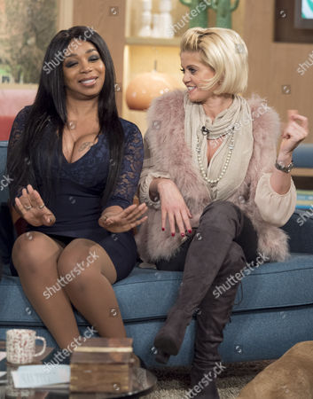 Stock Picture of Tiffany Pollard and Danniella Westbrook