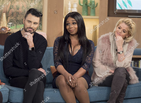 Editorial image of 'This Morning' TV show, London, Britain - 08 Feb 2016