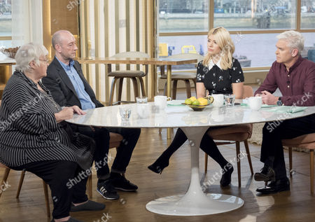 Stock Image of Erin Pizzey and Mark Pearson with Phillip Schofield and Holly Willoughby