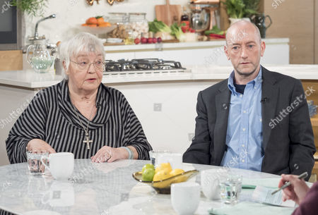 Erin Pizzey and Mark Pearson