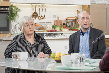 Stock Photo of Erin Pizzey and Mark Pearson