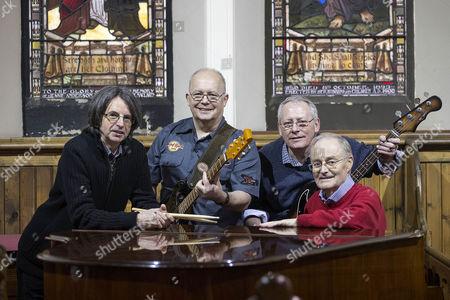 Editorial picture of White Light band photocall, Pollockshields Parish Church, Glasgow, Scotland, Britain - 05 Feb 2016