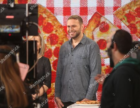 Editorial picture of Chef Pasquale Cozzolino at Good Morning America, New York, America - 02 Feb 2016