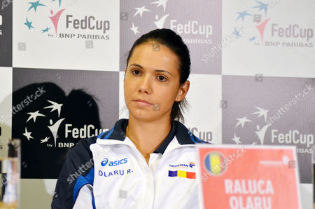 Raluca Olaru #49 WTA doubles during the Woman FED Cup 2016