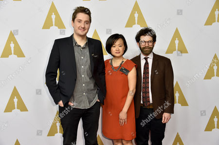 Duke Johnson, Rosa Tran and Charlie Kaufman