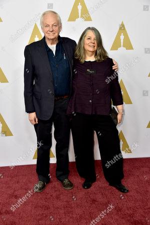 Stock Photo of Richard Williams and Imogen Sutton