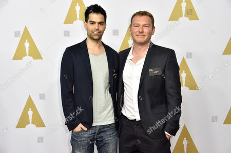 Stock Photo of Basil Khalil and Eric Dupont