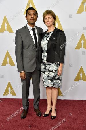 Sanjay Patel and Nicole Grindle
