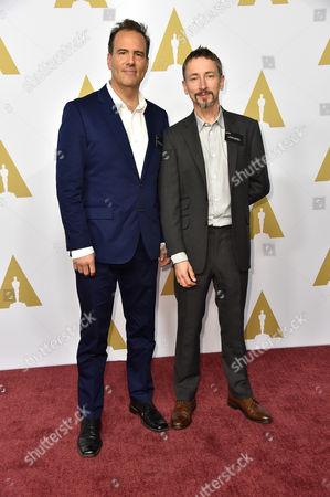 Christopher Scarabosio and Stuart Wilson