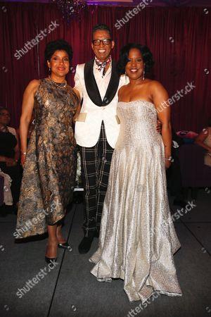 Phylicia Rashad, B Michael and Roslyn Brock