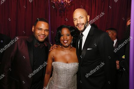 Stock Photo of Anthony Anderson, Roslyn Brock and Stephen Bishop