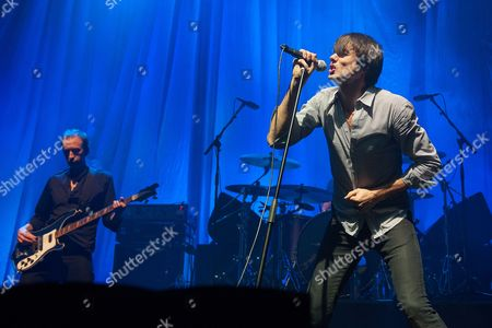 Editorial photo of Suede in concert at The Royal Concert Hall, Glasgow, Scotland, Britain - 08 Feb 2016