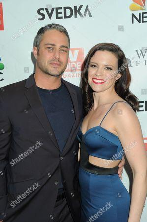 Taylor Kinney and Liza J. Bennett