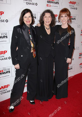 Paula Poundstone, Lily Tomlin and Kathy Griffin