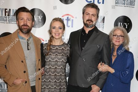 Jason Sudeikis, Screenwriter Desiree Van Til, Director Sean Mewshaw and Blythe Danner