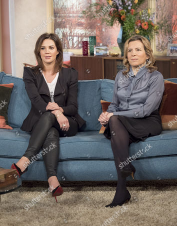 Stock Image of Danielle Lloyd and Angelica Kavouni
