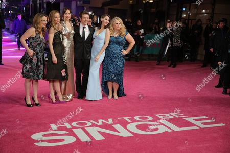 Stock Image of Dana Fox, Leslie Mann, Dakota Johnson, Christian Ditter, Alison Brie, Rebel Wilson