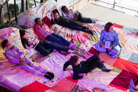 Laura Dockrill and The Giant Storytelling Bed