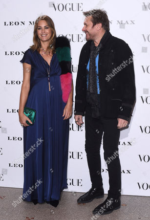Simon and Yasmin LeBon