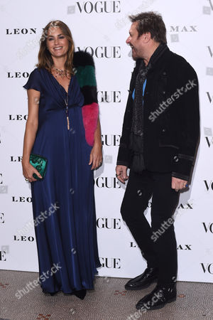 Stock Picture of Simon and Yasmin LeBon