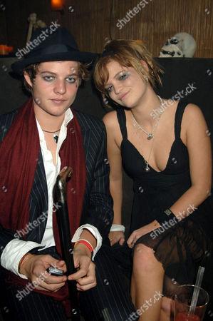 Pixie Geldof and guest