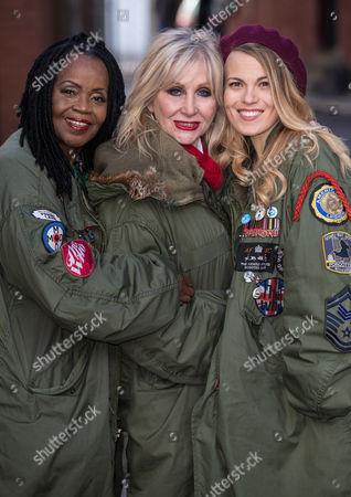 PP Arnold, Carol Harrison and Mollie Marriott