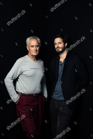 Stock Image of Daniel and Emmanuel Leconte
