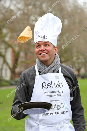 Editorial photo of Rehab Parliamentary Pancake Race at Victoria Tower Gardens, London, Britain - 09 Feb 2016