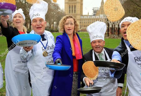 Stock Picture of Liz McInnes MP, Steve Pound MP, Cathy Newman, Alan Duncan and Clive Lewis MP