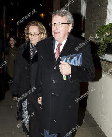 Lynton Crosby and wife Dawn Crosby