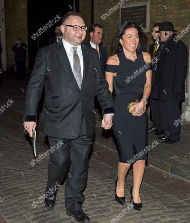 Jonathan Shalit and his wife Katrina Sedley