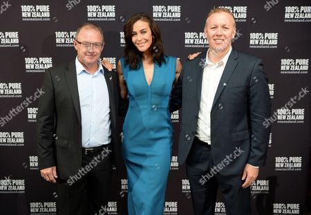 Megan Gale with guests