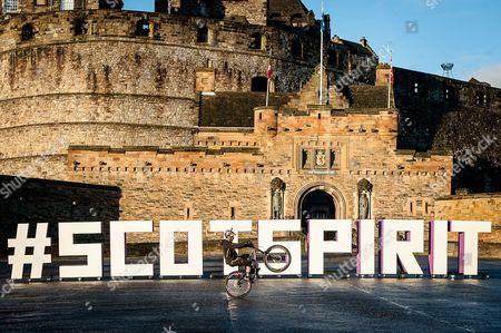 Stunt bike rider Danny MacAskill