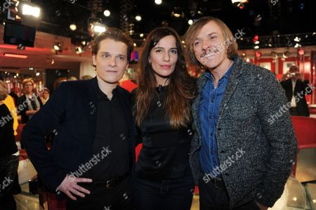 Benabar, Zoe Felix and Pascal Demolon