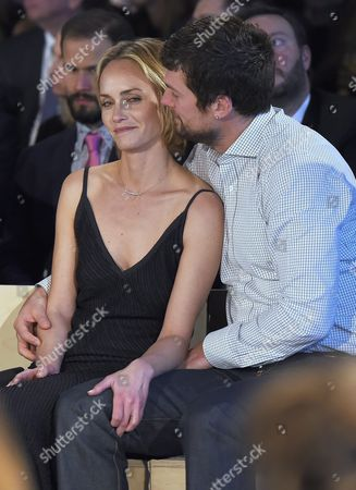Amber Valletta and boyfriend Christian McCaw